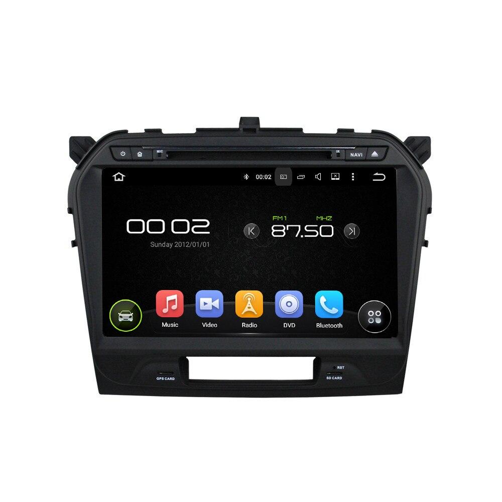 16 ГБ Встроенная память 4 ядра HD 8 дюймов 1024x600 Авто ПК Android 5.1.1 автомобильный DVD GPS для Suzuki Vitara 2015 с 3G 4 г Wi-Fi Bluetooth DVR OBD