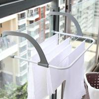 Outdoor Folding Rack For Clothes Towel Dryer Rack Hanger Shelf Drying Storage Radiator Metal Hook Large