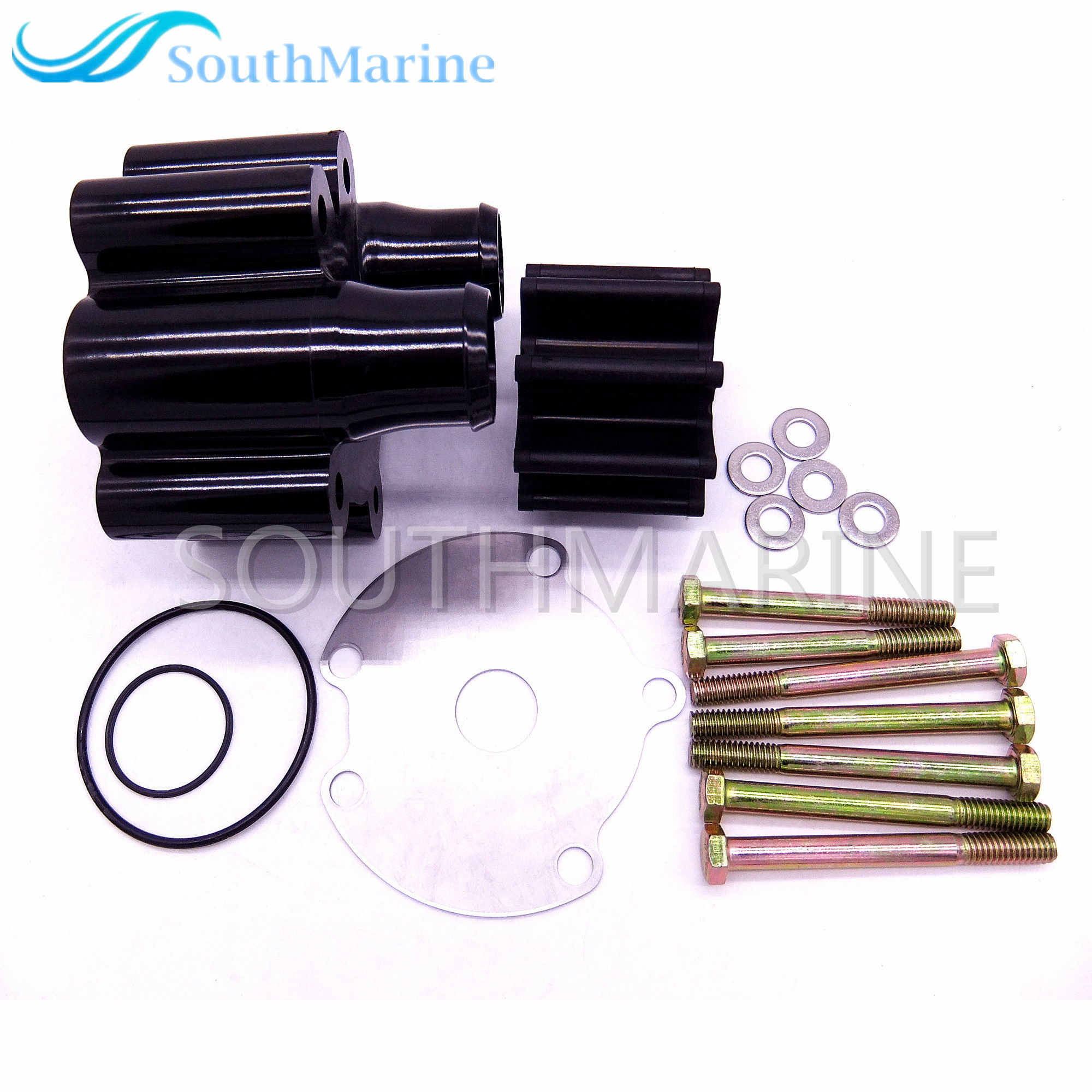 46-807151A14 46-807151A7 807151A14 for MerCruiser Bravo Water Pump Impeller Kit 807151A746-807151A14 46-807151A7 807151A14 for MerCruiser Bravo Water Pump Impeller Kit 807151A7