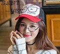 2016 Весной и Летом Моды Затенение Шляпа Улица Хип-Хоп Письма Ван Грузовик Шляпа Г-Жа Корейских Мужчин