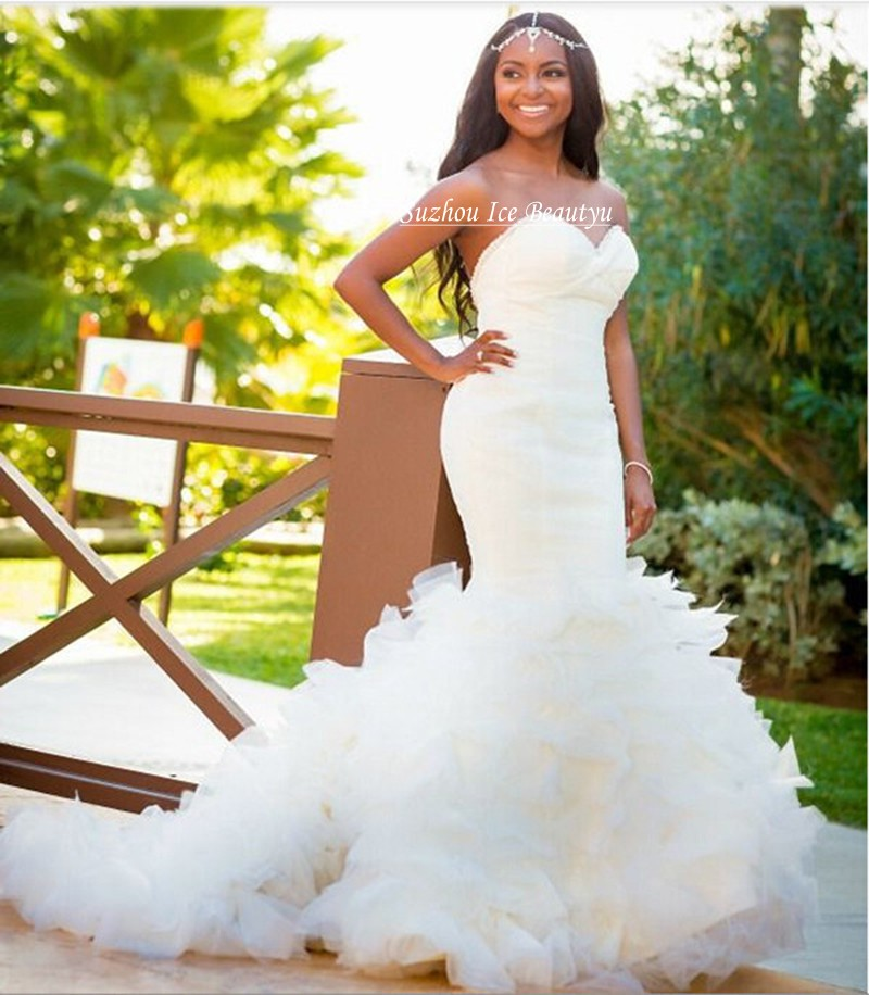 Buy tiered cascading ruffles skirts for Cascading ruffles wedding dress