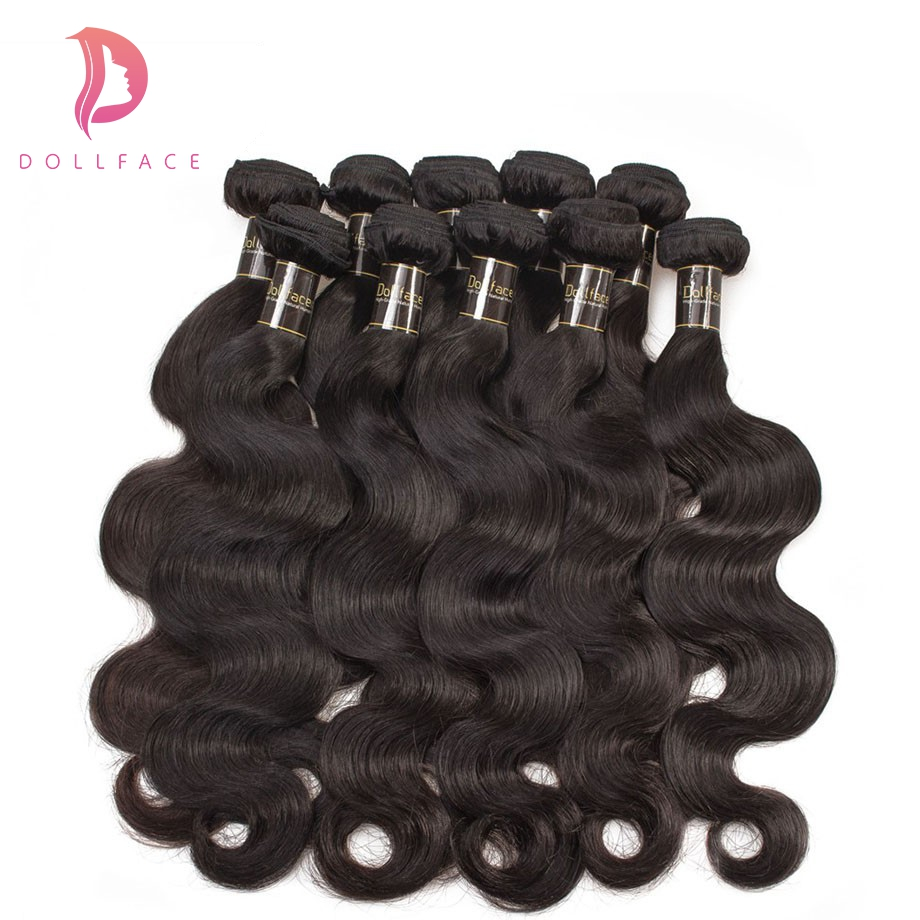 Human Hair Weaves Hair Extensions & Wigs Wigirl Hair Body Wave 10pcs/lot 8-28 Inches Brazilian Remy Hair Weave Bundles Wholesale Hair Bundles Wefts Free Shipping