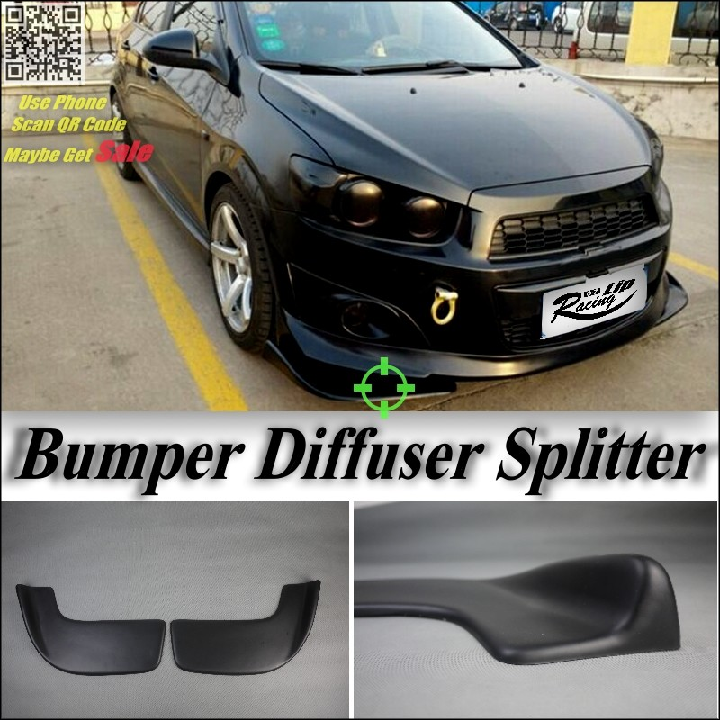 BMW X4 F26 2014~2016Splitter Diffuser Deflector Fin 2