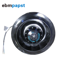 Germany ebmpapst R2E220 AB08 12 backward tilting 93W 115V centrifugal fan
