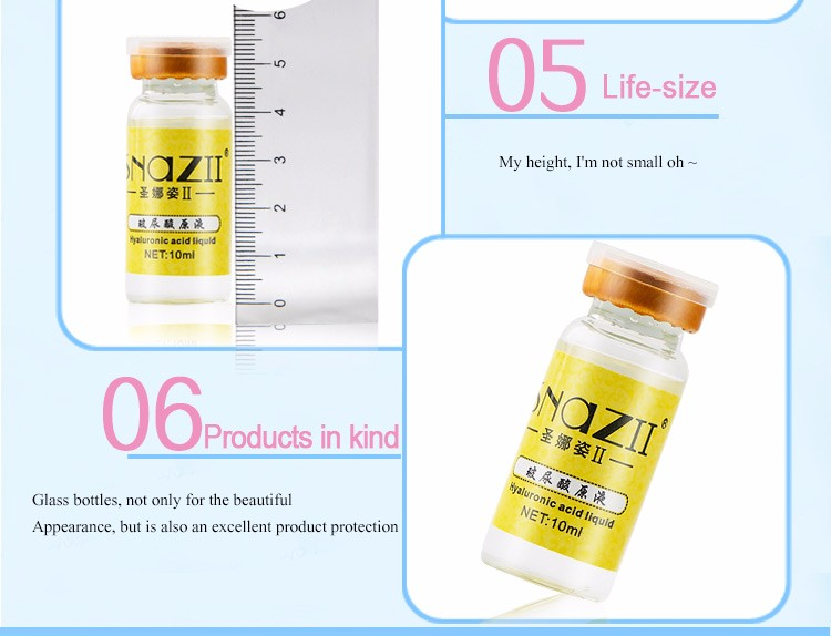 Brand Face Skin Care Hyaluronic Acid Essence Original Liquid 10ml Moisturizing Whitening Oil Control Anti Aging Acne Treatment 10