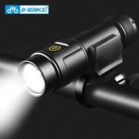 INBIKE Bike Flashlight 1000 LUMEN USB Charging Five Light Modes USB Charging Mobile Power Bike Accessory MTB Road Bike Light