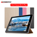 Tablet Case Cover For Chuwi Hi10 Plus 10.8 Inch Solid Pattern PU Leather Folio Flip Stand Holder Protect Shell Flip Shockproof
