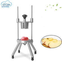 Manual Fruit Slicer Vegetable Cutter Divider Stainless Steel Coupe For Kitchen