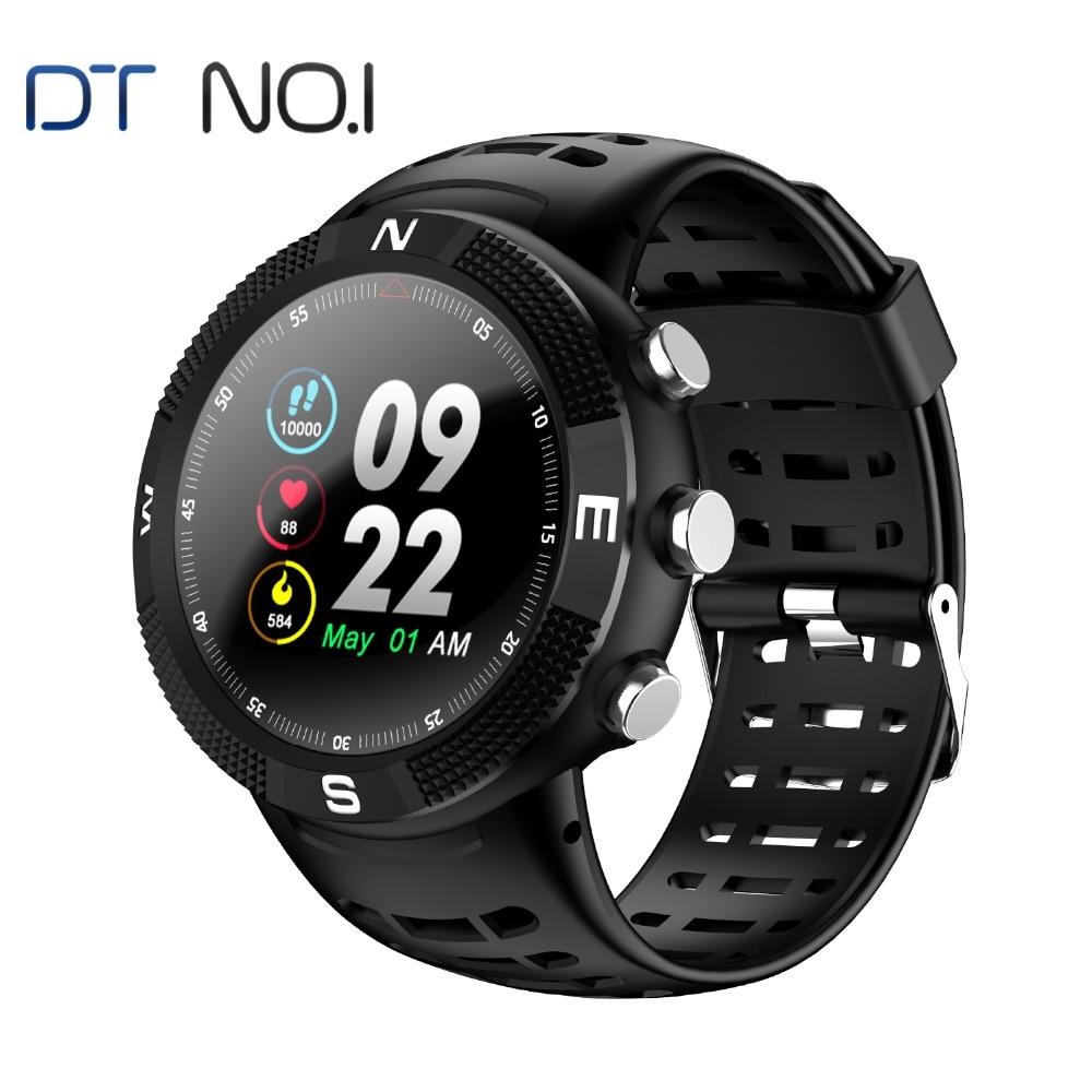 № 1 F18 gps Smartwatch Android IOS сердечного ритма IP68 gps ГЛОНАСС Smartwatch 1,3 дюйм(ов) Сенсорный экран сапфир прочный спортивные часы