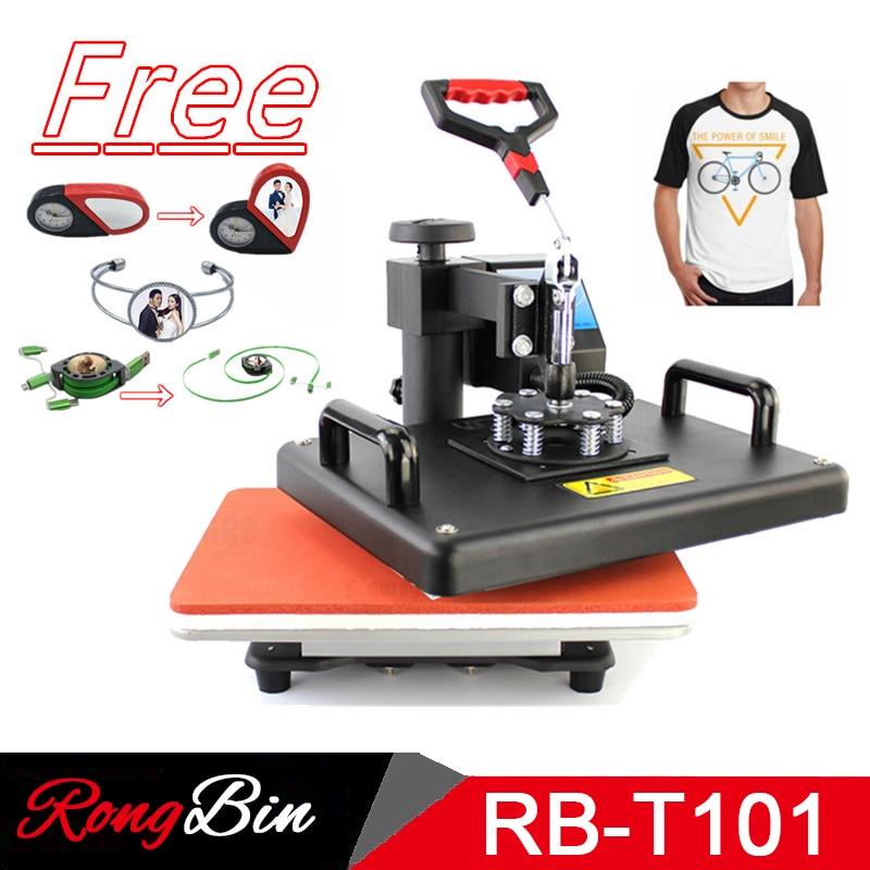 12x15 дюймов сублимационная печать на футболках тепла пресс машина цифровой качели теплообмена футболка печать DIY сублимационный принтер