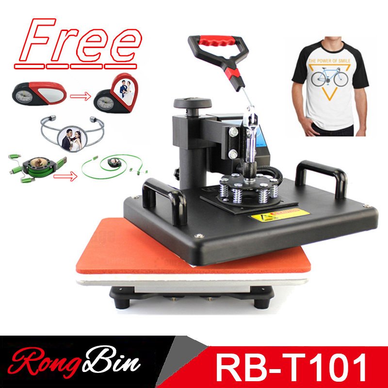 12x15 Inch Sublimation T shirt Heat Press Machine Digital Swing Heat Transfer T shirt Printing DIY