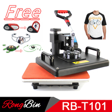 12×15 Inch T-shirt Heat Press Machine Digital Swing T-shirt Heat Transfer Machina T-shirt Printing Machine Sublimation DIY Print