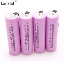 1--8PCS  18650 INR18650 Rechargeable Battery DIY Nickel Sheets battery 18650 batteries 20A Discharge 2600mAh Li-ion 3.7V стоимость