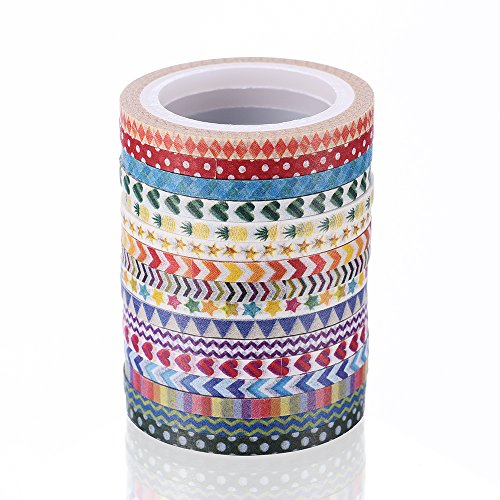 15mm*8m Klebstoff Masking Aufkleber Washi Tape Scrapbooking Label Dekorative DIY