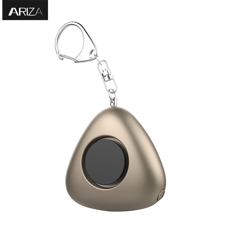 Ariza mini self defense personal security alarm keychain emergency panic alarm safety alarm for women elderly as car keychain 2016 2pcs a lot self defense supplies alarm personal key ring protection alarm alert attack panic safety security rape alarm