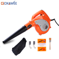 GOXAWEE 600W Air Blower with 6 Variable Speed Electric Dust Blower Vacuum Dust collecting 2 in 1 Computer dust collector