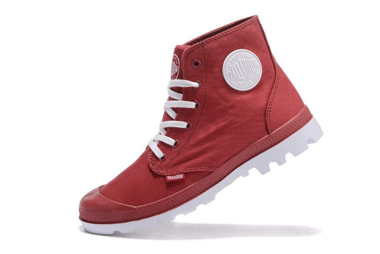 Palladium Hi Chaussures Homme Xwv34cjo Pampa Rouges Casual Talon 6xBqgBw
