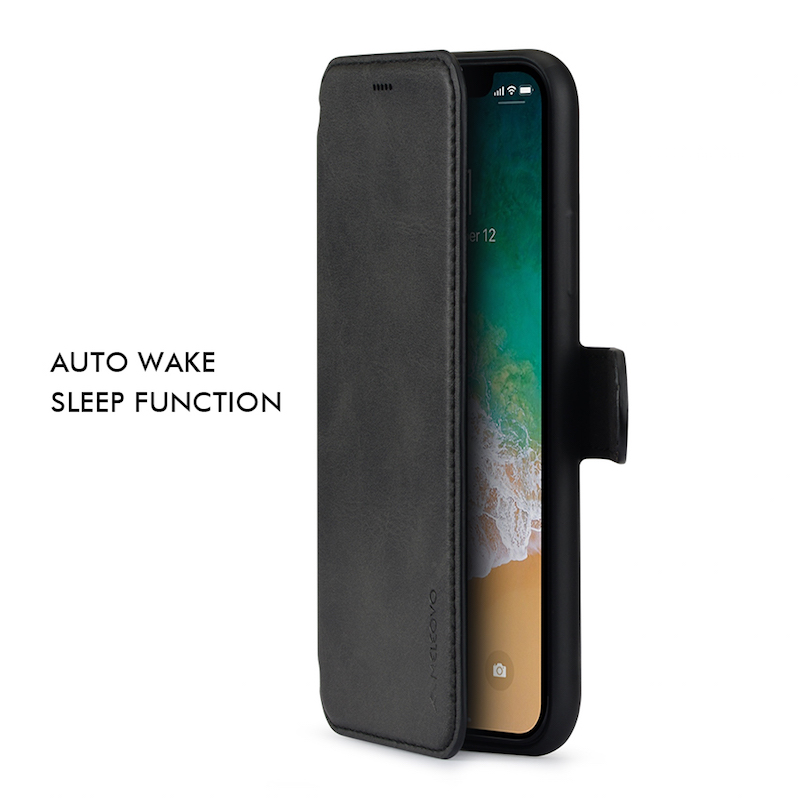 PU Leather For iPhone X Case Flip Original MELEOVO Brand Book Wallet For iPhone 7 8 plus Case Card Slots For Apple iPhone X Case