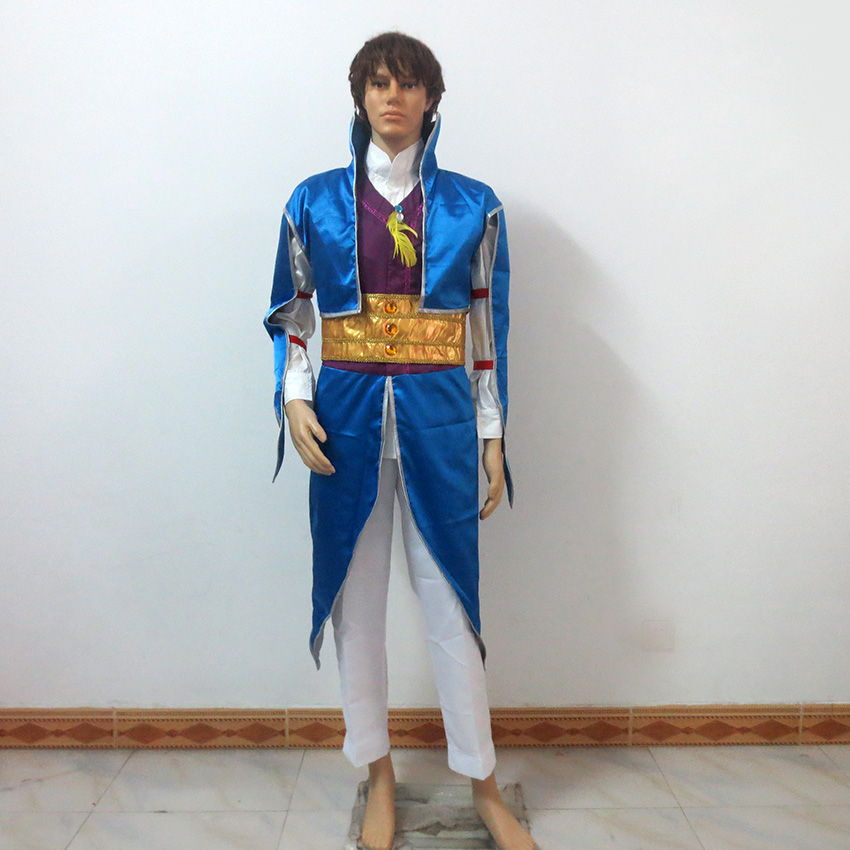Magi The Labyrinth of Magic Sinbad Shindobaddo Christmas Party Halloween Uniform Outfit Cosplay Costume Customize Any Size