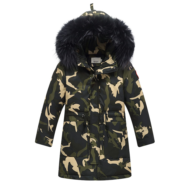 Aliexpress.com : Buy fur hooded camouflage duck down coats