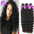 Peerless Virgin 10A Deep Wave Brazilian Hair 3Pcs Brazilian Virgin Hair Deep Wave Bundles Deep Curly Brazilian Human Hair Weave