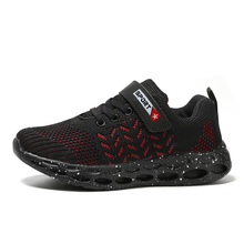 New Spring 2019 Children Shoes Fashion Breathable Mesh Leisure Kids Sports For Women Men C