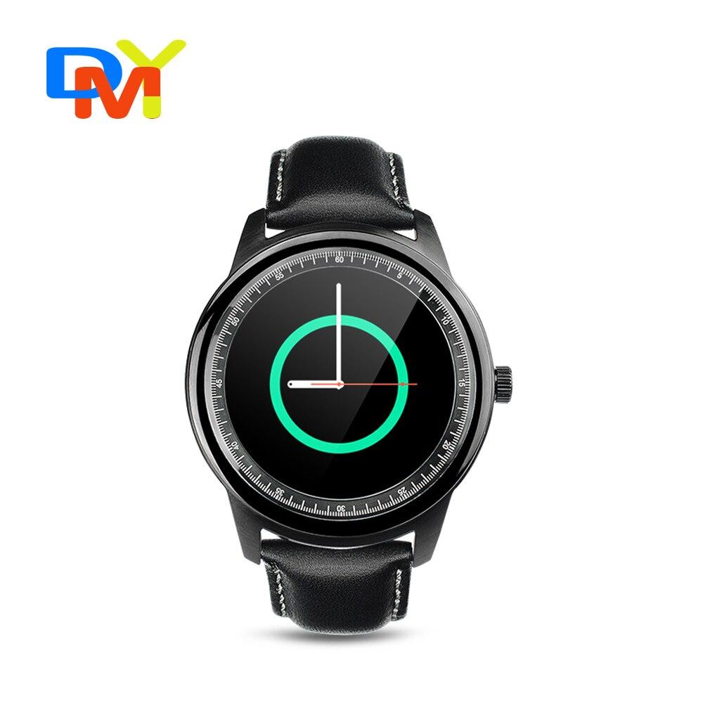 New 2016 DM360 upgrade DM365 smart watches Bluetooth 4 0 MTK2502 IP67 Round font b smartwatch