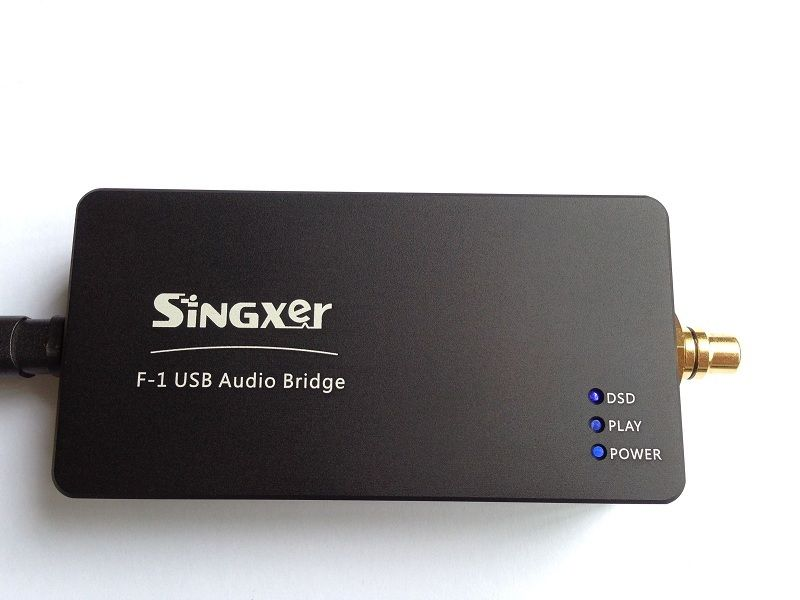 SINGXER F-1 XMOS USB Digital Interface Module With XU208 Chip High End U8 Upgraded Version With CNC Aluminum Protective Case