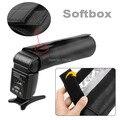 Xcsource Snoot do Flash Softbox difusor para Canon 430exii 580 580exii 550EX 540EZ 380EX Nikon Sony : hvl-f32x, Hvl-f1000 DC330-SZ