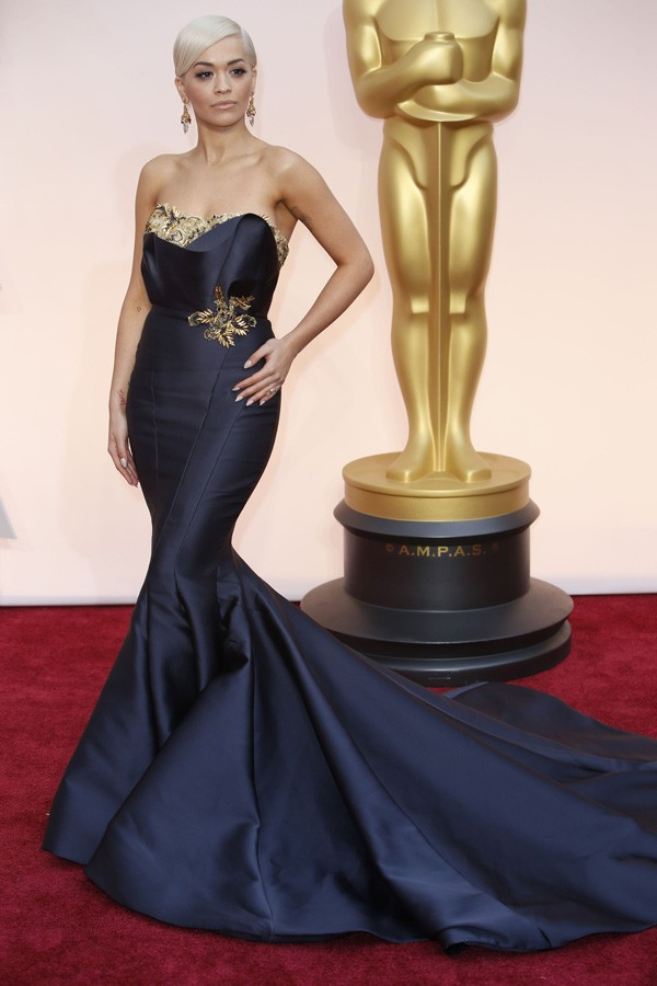 Oscar-2015-Red-carpet-Rita-Ora