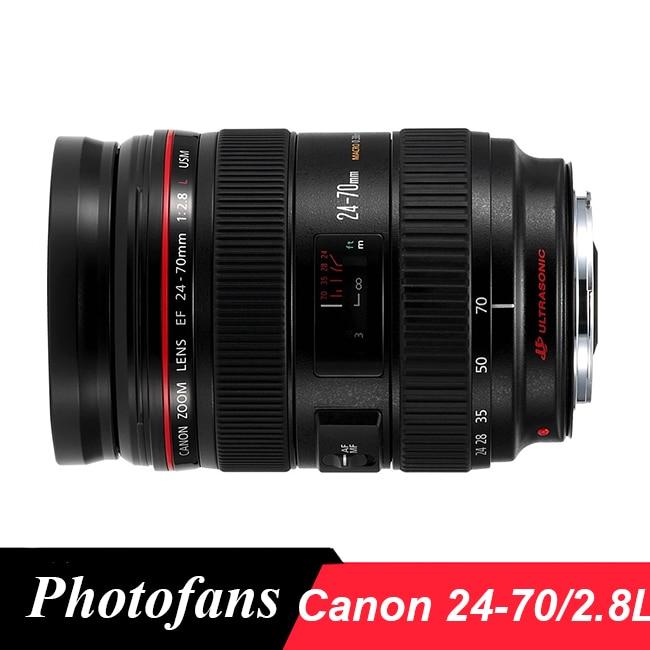 Canon EF 24 70mm f 2 8L USM Lens