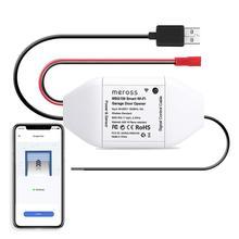 Meross Smart Wi-Fi garagentorёffner, APP-Steuerung, Kompatibel mit Alexa, Google Assistant und iftt, kein Hub erforder