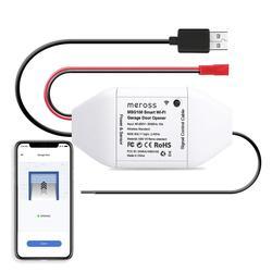 Originale Meross Smart Wi-Fi WiFi Porta Del Garage Opener Lavoro con Amazon Alexa Google Assistente IFTTT APP di Controllo No Hub Necessario