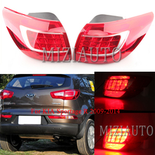 1PCS Rear Tail light Outer Inner for KIA Sportage R 2009-14 Q5 Style Stop Lamp Tail Brake Lamp Rear Bumper Light Left/Right rear outer brake light tail light lamp left lh for mitsubishi outlander ex 07 13 8330a395