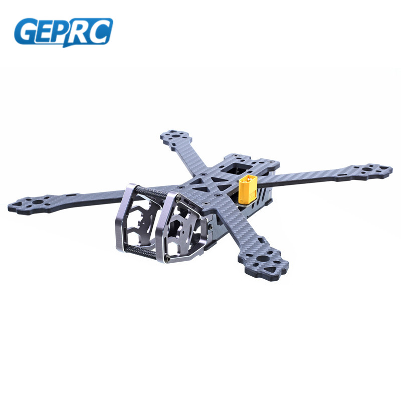 GEPRC GEP-KX5 Elegant 243mm FPV Racing Drone X Frame Kit 4mm Arm w/ PDB 5V & 12V Compatiable with Runcam For RC DIY Multirotor niono trex8 6 220mm lite 4mm arm frame kit w 5 8g 200mw 600mw fpv vtx for rc drone fpv racing quadcopter multirotor helicopter