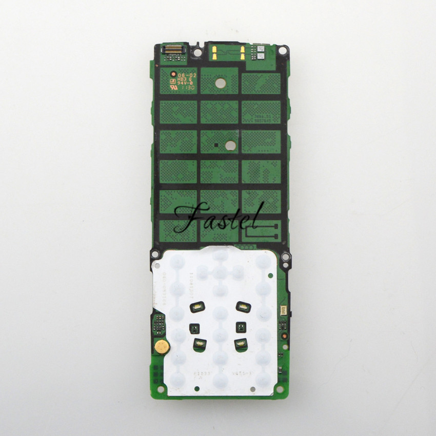 for nokia x2 x2 00 unlocked origianl mobile phone cell phone motherboard  circuits main logic board english or russian language-in mobile phone  housings from