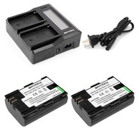 LP E6 LP E6 LPE6 Camera Battery Ultra Fast LCD Dual Charger For Canon EOS 5DS