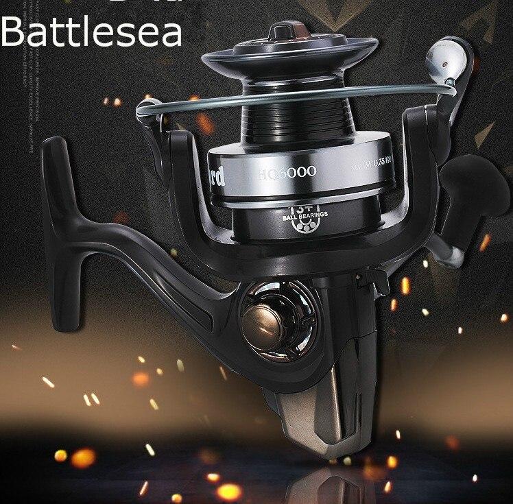 Qualité supérieure Grand Szie 13BB moulinet de pêche Lointaine Roue En Métal CNC Rocker Mix Glisser 24 kg/52lb Force moulinet à tambour D'eau Salée