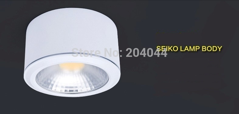6pcs/lot  3w/5w/7w/ 10W,down lamp Surface mounted down lights ,high-grade shell, ,advantage products,high quality light