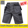 Men's workwear twill cargo short new work short trousers durable mechanic work suits
