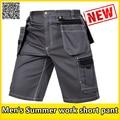 Men's workwear twill cargo short new work short trousers durable mechanic work suits