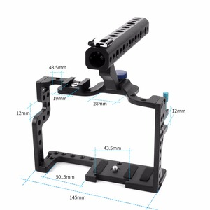 Image 2 - for Professional Panasonic GH3 GH4 Protective Housing Case Handle Grip Rugged Cage Combo Set for DSLR Rig Digital Camera