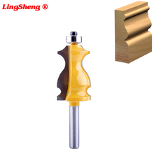 8mm Shank Architectural Cemented Carbide Molding Router Bit Trimming Wood Milling Cutter for Woodwork Cutter Power Tools 1 2inch shank architectural cemented carbide molding router bit trimming wood milling cutter for woodwork cutter power tools