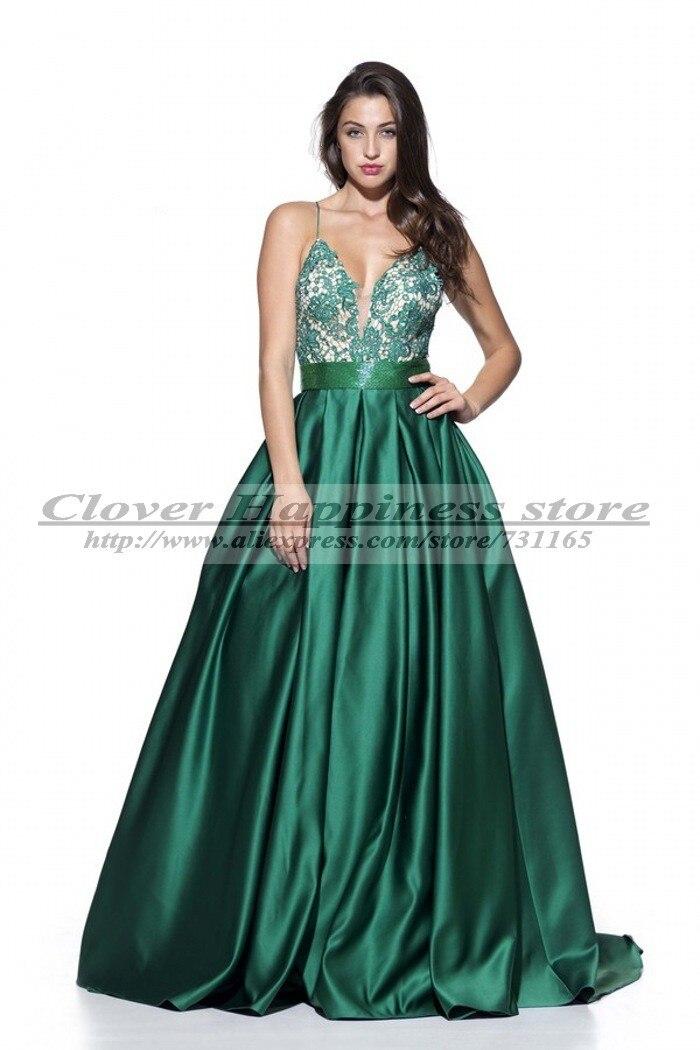 a41974fbb Vestido De Festa Longo Sexy verde esmeralda De noche Vestidos palabra De  longitud Vestido De traje De soirée Vestido sociales Vestidos De Gala 2014  en ...