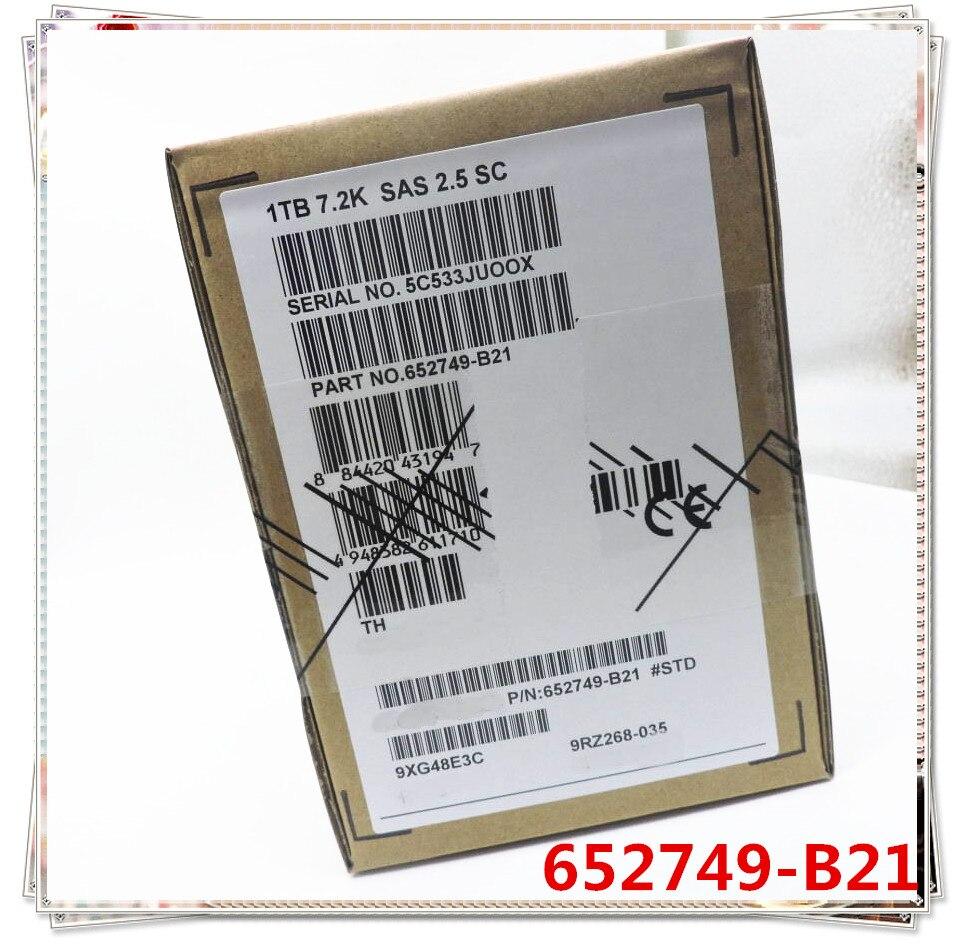 New for 652749 B21 653954 001 1TB SAS 2 5 G8 G9 3 year warranty