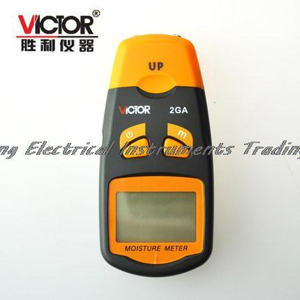 Fast arrival  LCD Intelligent wood Moisture Tester meter VICTOR 2GA victor 2gc vc2gc lcd grain moisture meter tester