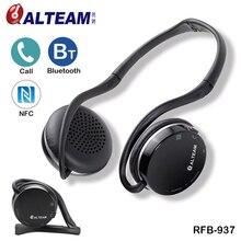 Portátil Dobrável de alta qualidade Neckband Estéreo NFC Sem Fio Fones De Ouvido bluetooth esportivo com Microfone para Telefones celulares Em Execução