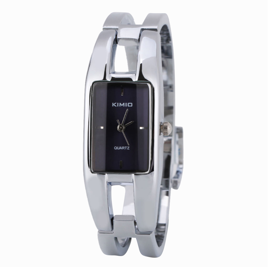 Kimio Elegant alloy Quartz Lady Girl Women Wrist Watch Analog Bracelet Color:Royal blue protective pu leather pc case for nook glowlight brown black