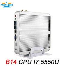 Partaker mini pc intel core i7 b14 5550u окна безвентиляторный мини-компьютер с бесплатной доставкой