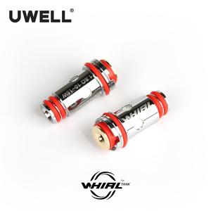 Image 2 - Uwell 4ピース/パック旋回2タンク/旋回タンクアトマイザーの交換コイルヘッド0。6ohm/1.8ohm t電子タバコアトマイザーコア